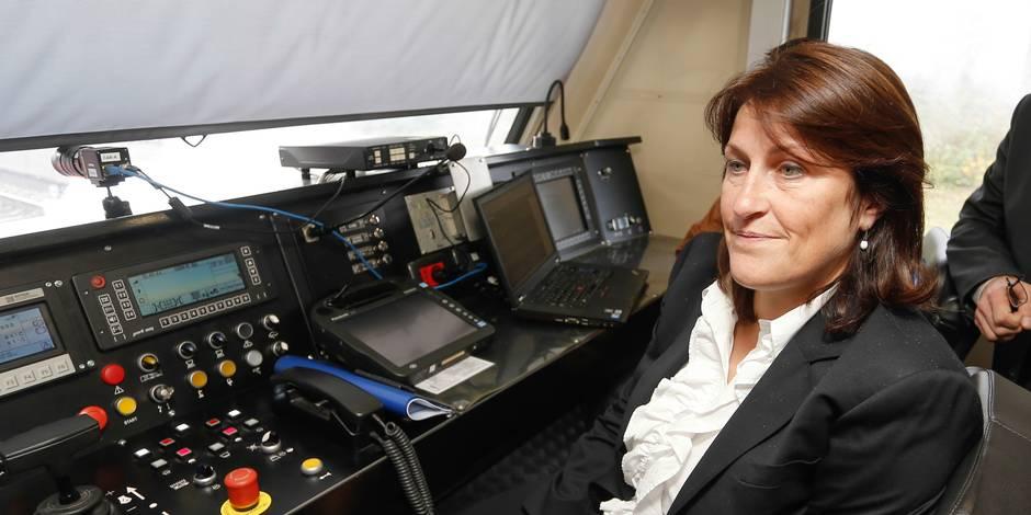 SNCB: les tarifs préférentiels pour manifestants étonnent Jacqueline Galant