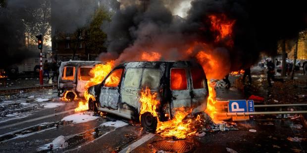 """""""Crapules"""", """"hooligans"""",... La Flandre se lâche sur les casseurs de la manifestation nationale - La Libre"""