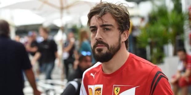 Fernando Alonso chez McLaren en 2015 - La Libre