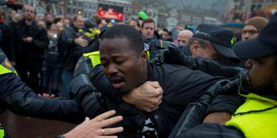 La polémique du Père Fouettard fait 90 arrestations aux Pays-Bas