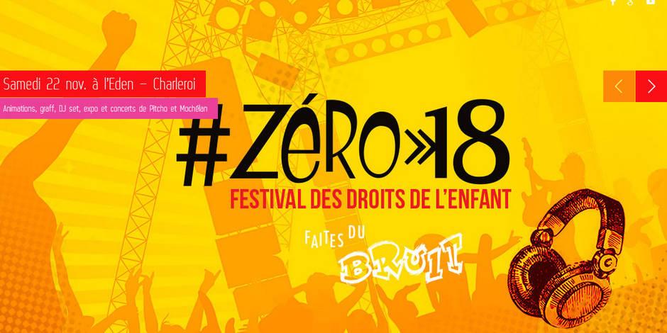 Le festival Zéro18, une question de droits