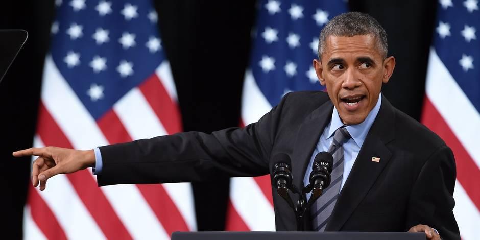 Édito: Barack Obama dans une zone de turbulences - La Libre