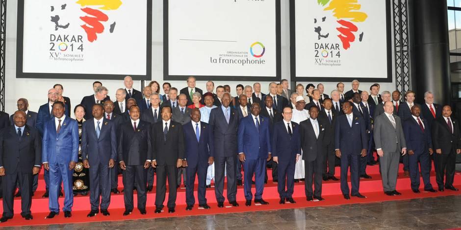 Ouverture à Dakar du 15e sommet de la Francophonie