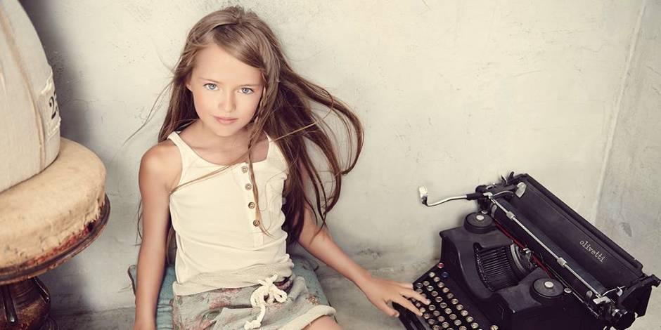 a 9 ans   u0026quot la plus belle petite fille au monde u0026quot  fait pol u00e9mique