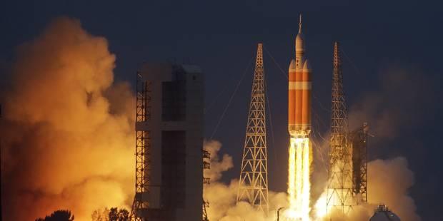 Premier vol réussi pour Orion - La Libre