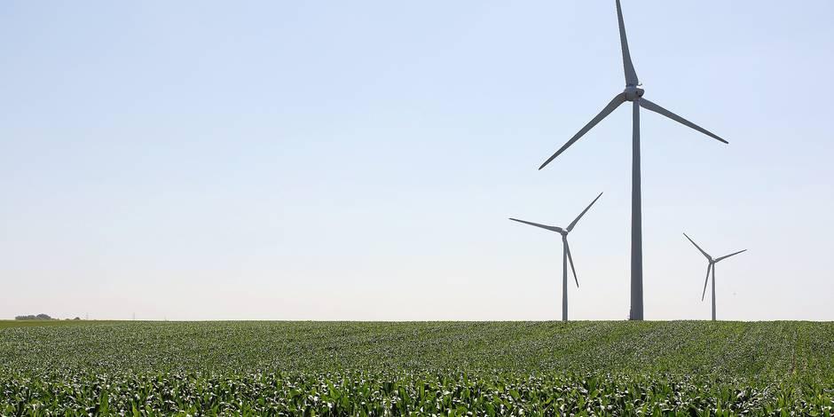 éoliennes - parc éolien de Marbais - énergie renouvelable - vent
