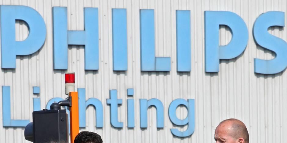 Philips envisage de supprimer 170 emplois à Turnhout