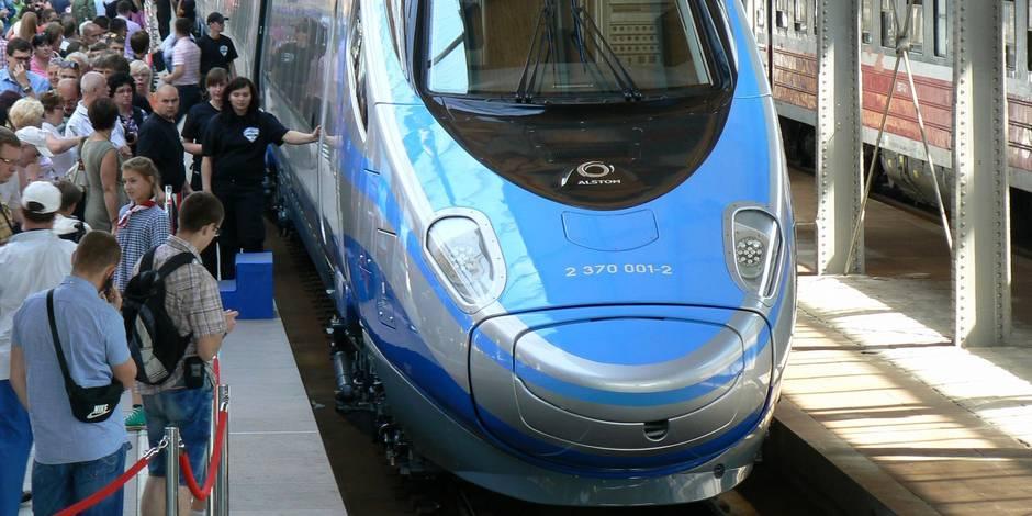 Le premier train à grand vitesse sur les rails en Pologne