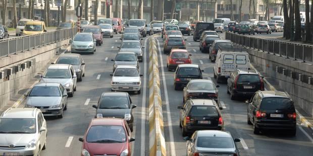 """Il est """"déconseillé"""" aux automobilistes de se rendre à Bruxelles en voiture jeudi et vendredi - La Libre"""