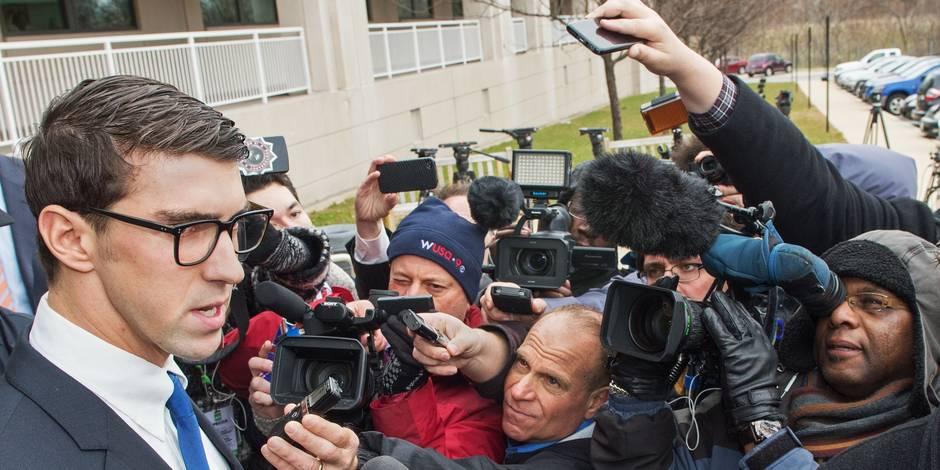 Etats-Unis: sursis et mise à l'épreuve pour Michael Phelps