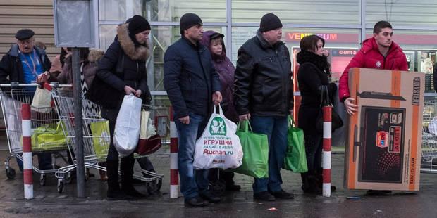 Crise monétaire en Russie: quelle cause et quel impact pour les Russes et pour Poutine ? - La Libre