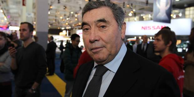 Eddy Merckx sacré Champion des champions de légende 2014 - La Libre