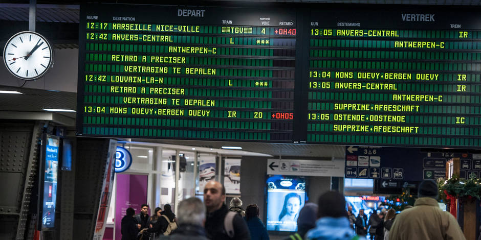 La dette de la SNCB grimpe à 5 milliards d'euros