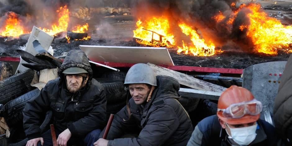 """L'Ukraine a vécu en 2014 la pire année """"depuis la Deuxième Guerre mondiale"""""""
