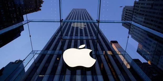 Apple accusé de mentir sur la capacité de stockage de ses appareils - La Libre