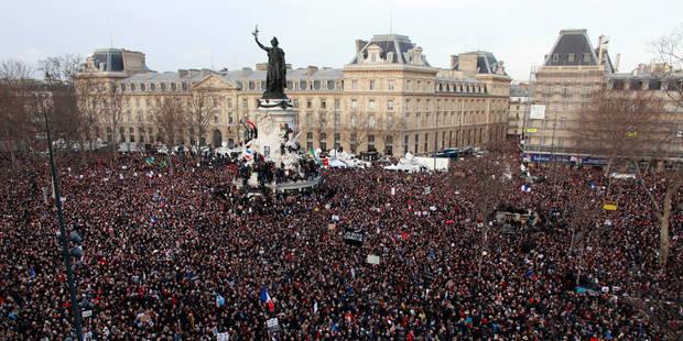 Marche républicaine: plus grande mobilisation jamais recensée en France - La Libre