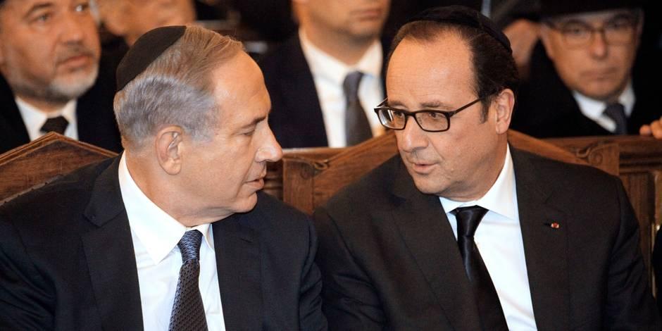 Netanyahu s'est invité à la marche de Paris