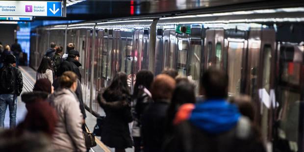 Dix millions de voyages en plus à la Stib en 2014 - La Libre