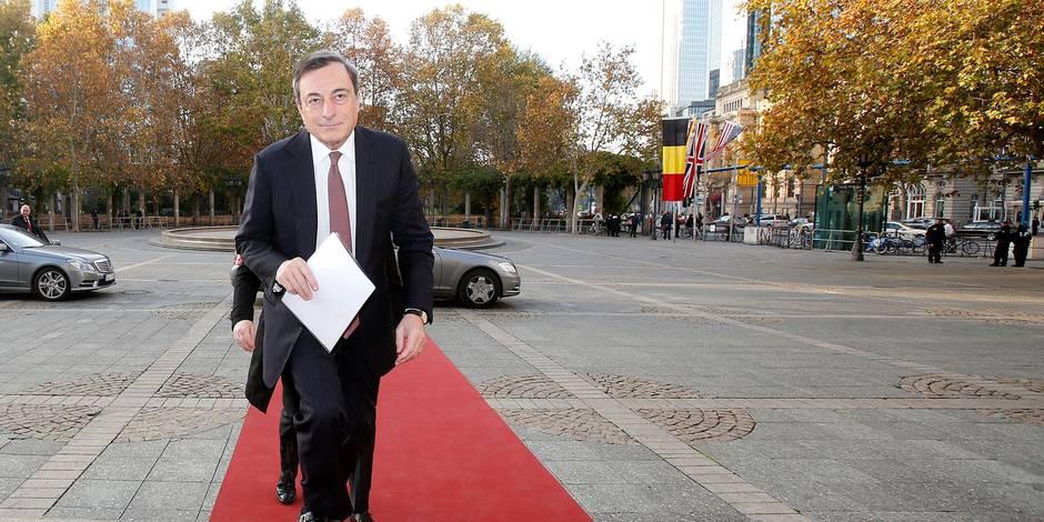 Comment Mario Draghi va-t-il doper la zone euro? - La Libre