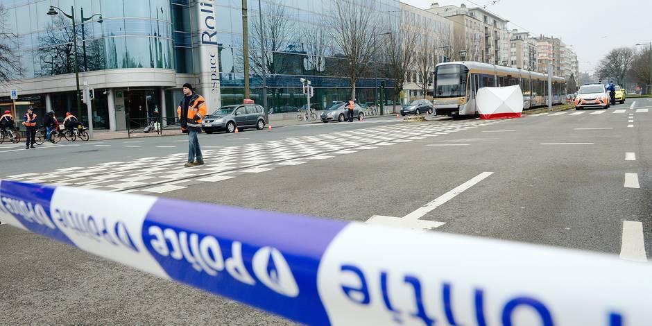 Le tram tue peu, mais il effraye le piéton - La Libre