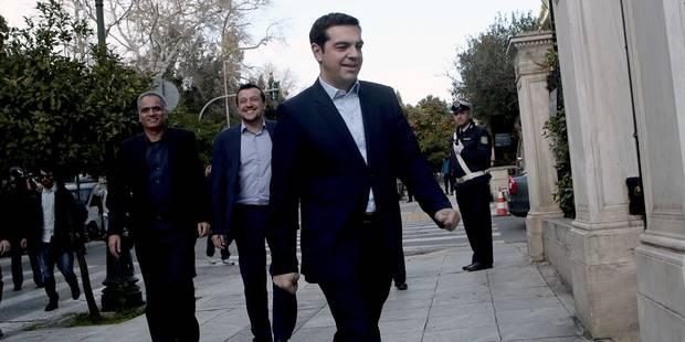 Grèce: voici la composition définitive du nouveau parlement - La Libre