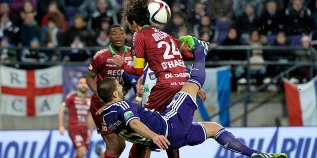 Anderlecht et Zulte se quittent sur un match nul (0-0) - La Libre