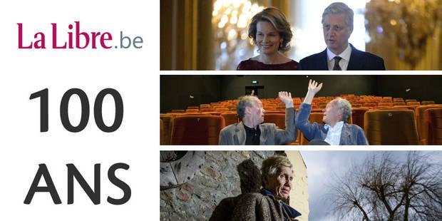 """100 ans de La Libre: 100 personnalités confient ce qu'elles voudraient lire dans """"La Libre"""" en 2015 - La Libre"""