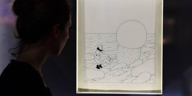 """Une couverture de """"L'Etoile mystérieuse"""" vendue 2,5 millions d'euros - La Libre"""