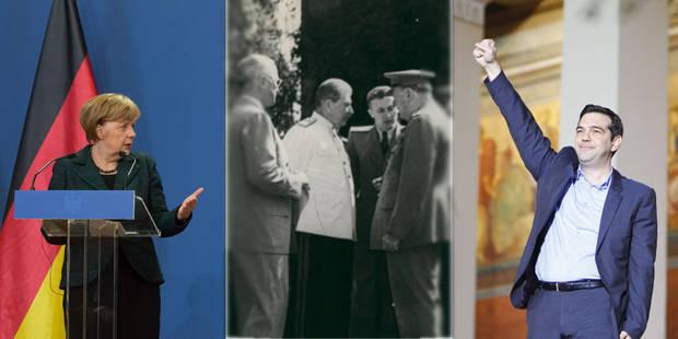 Face à la dette, que peut faire Alexis Tsipras? Ce que les Allemands ont fait avant lui - La Libre