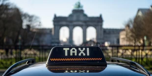 Le centre-ville de Bruxelles paralysé par les taxis ce mardi (CARTE) - La Libre