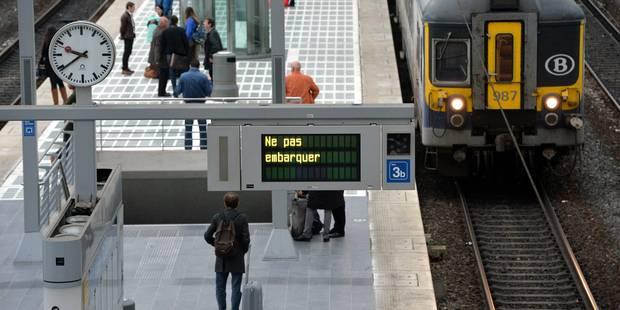 Préavis de grève sur le rail les 31 mars et 1er avril - La Libre