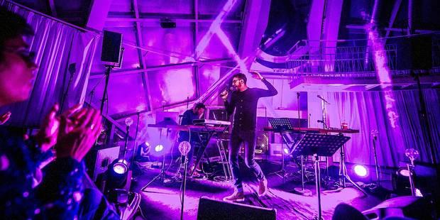 Christophe Willem à l'Atomium - La Libre