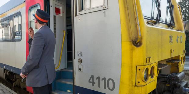 Les accompagnateurs de train pourraient perdre en moyenne 100 euros par mois - La Libre