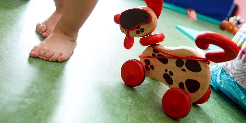 Des produits toxiques dans les jouets en mousse pour bébés