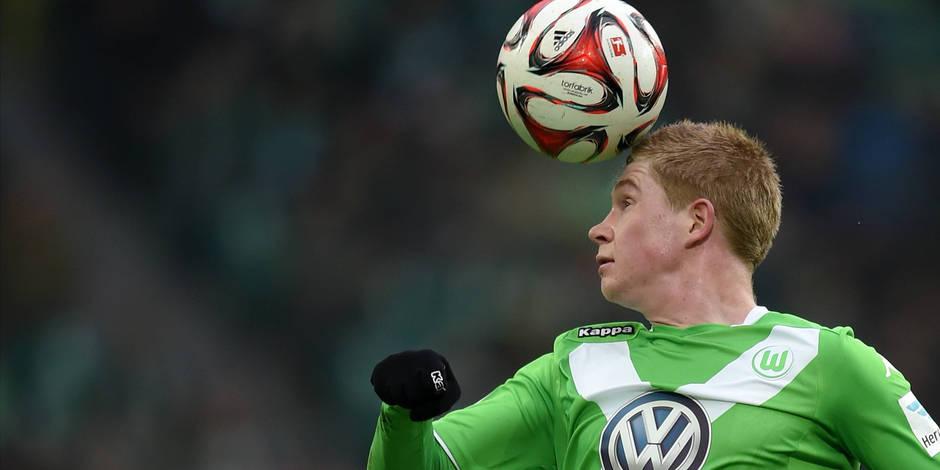 Wolfsburg verrait bien Kevin De Bruyne rester quelques années