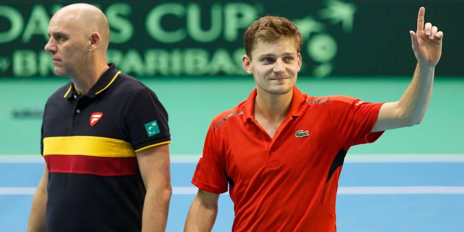 Le quart de finale de Coupe Davis Belgique - Canada se jouera à Middelkerke
