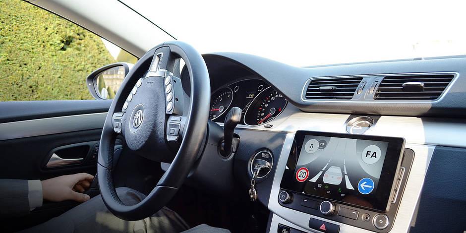La voiture autonome sans GPS