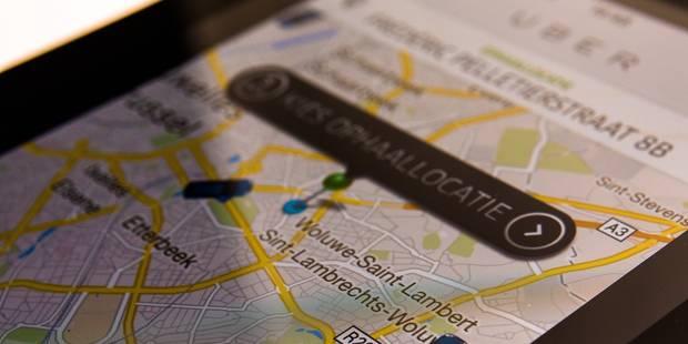 Bruxelles: 500 euros d'amende requis contre un chauffeur Uber - La Libre