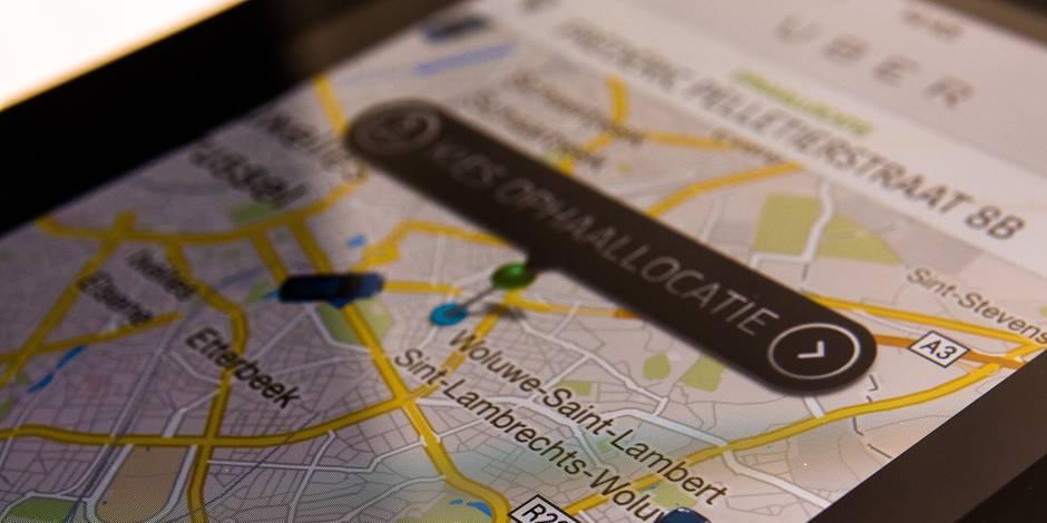 Bruxelles: 500 euros d'amende requis contre un chauffeur Uber