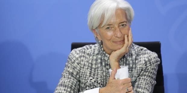 Grèce : Christine Lagarde va rencontrer le ministre des Finances - La Libre