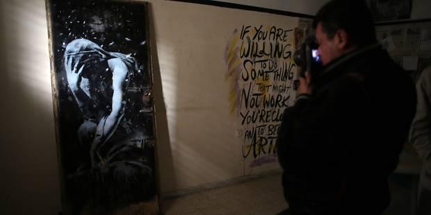 Imbroglio autour d'une oeuvre de Banksy - La Libre