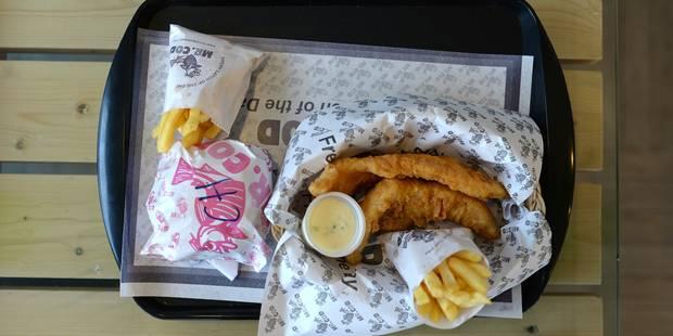 Les fish and chips condamnés par le réchauffement des mers? - La Libre