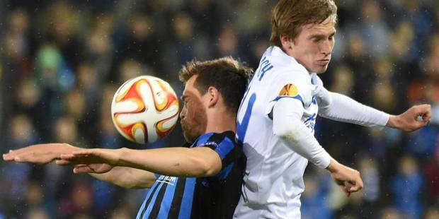 Le FC Bruges se heurte à un mur contre Dnipro (0-0) - La Libre