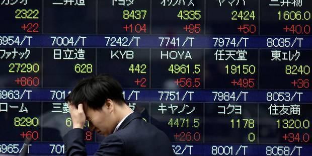 Les marchés mondiaux perturbés par une panne des écrans boursiers de Bloomberg - La Libre