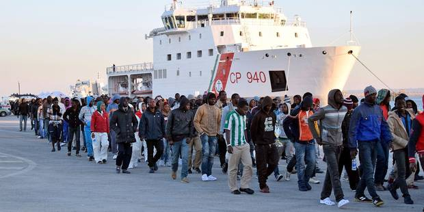 Italie: plus de 11.000 migrants ont débarqué en six jours dans le pays - La Libre