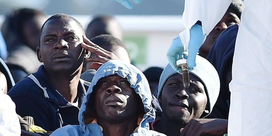 Les rêves des migrants africains s'échouent en Sicile - La Libre