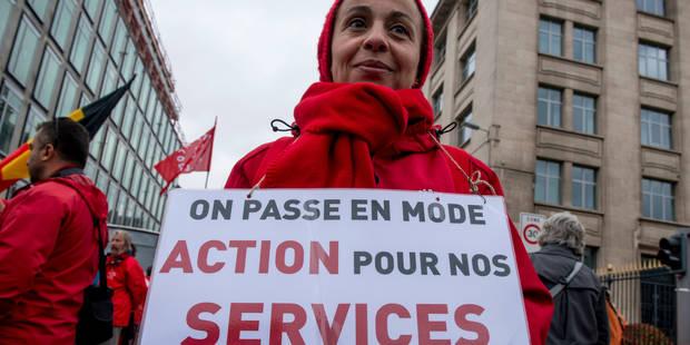Grève des services publics: La FGTB satisfaite du succès de l'action - La Libre