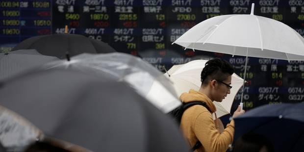 Grosse déprime sur les bourses sur fond de croissance décevante aux Etats-Unis - La Libre