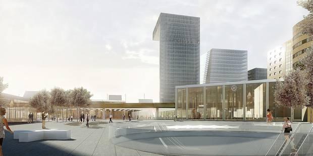 Le renouveau du quartier du Midi à nouveau évoqué - La Libre