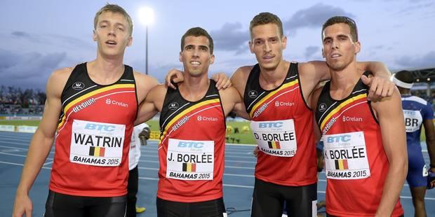 L'équipe de relais 4x400 m qualifiée pour les Jeux de Rio ! - La Libre